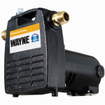 Wayne Water Systems PC4 Cast Iron Portable Utility Pump, .5-HP Motor