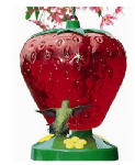 Woodstream 260P 48-oz. Strawberry Style Hummingbird Feeder