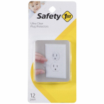 Safety 1St/Dorel 1711 12-Pack Clear Outlet Child Safety Cap
