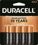 Duracell Distributing Nc MN1500B8Z Alkaline Batteries, AA, 8-Pk.