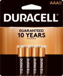 "Duracell Distributing Nc MN2400B8Z Alkaline Batteries, ""AAA"", 8-Pk."