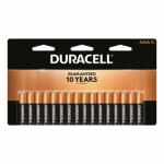 "Duracell Distributing Nc MN2400B16 Alkaline Batteries, ""AAA"" , 16-Pk."