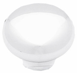 Brainerd Mfg Co/Liberty Hdw P624AAL-W-U Round White Cabinet Knobs, 2-Pk.