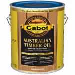 Cabot/Valspar 19457-07 AmberWood Stain Australian Timber Oil Wood Stain Finish, Gallon