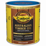 Cabot/Valspar 19460-05 Australian Timber Oil Wood Stain Finish, Jarrah Brown, Qt.