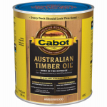 Cabot/Valspar 19457-05 Australian Timber Oil Wood Stain Finish, Amberwood, Qt.