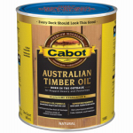 Cabot/Valspar 19400-05 Australian Timber Oil Wood Stain Finish, Natural, Qt.