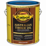 Cabot/Valspar 19460-07 Jarrah Brown Australian Timber Oil Wood Stain Finish, Gallon