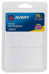 Avery Products 06117 Rectangle Label, 1 1/2 x 2-3/4-Inch, 96-Count