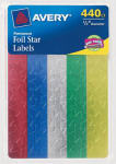 "Avery Products 06007 440CT 1/2"" Star Labels"