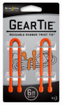 Nite Ize GT6-2PK-31 2-Pack 6-Inch Gear Tie, Orange