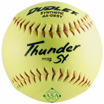 Spalding Sports Div Russell 4A-069YP Thunder Slow-Pitch Softball, Yellow, 12-In.