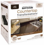 Rust-Oleum 258283 Countertop Transformations Kit, Java Stone
