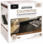 Rust-Oleum 258284 Countertop Transformations Kit, Onyx
