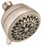 Delta Faucet 75763SN 7-Spray Showerhead, Satin Nickel, 2.0 GPM