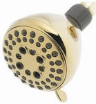Delta Faucet 75555PB 5-Spray Showerhead, Polished Brass