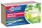 Jarden Home Brands 4878902123 Strike Anywhere Greenlight Matches, 300-Ct.