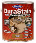 Zinsser & 252578 Durastain Chestnut Brown Semi-Transparent Wood Stain, Gallon