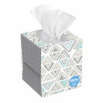 Kimberly-Clark 37403 Facial Tissue, 2-Ply, Assorted Colors, 80-Ct.