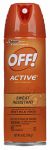 S C Johnson Wax 01810 6-oz. Aerosol Active Insect Repellent