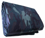 Kaps Tex 139183RD Camouflage Storage Tarp Cover, 10 x 10-Ft.