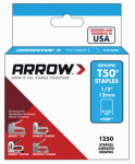 Arrow Fastener 50824 1250-Pack 1/2-Inch Heavy-Duty Staple