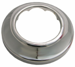 Larsen Supply 03-1541 Sure Grip, Chrome Plated Shallow Flange,Fits 1-1/2-Inch Iron Pipe,Carded