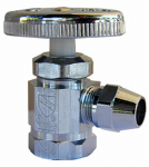 Larsen Supply 06-7407 1/2FPTx3/8FL Angle or Angled Valve
