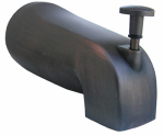 Larsen Supply 08-1047 Bathtub Diverter Spout, Oil-Rubbed Bronze