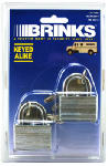 Hampton Prod Intl 172-40211 2-Pack 1-1/2 Inch Warded Laminated Steel Padlock