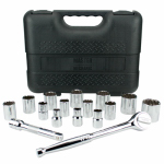 Apex Tool Group-Asia 139608 SAE Socket Set, 1/2-In., 16-Pc.