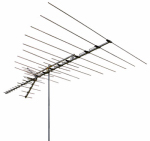 Audiovox ANT3038XR Television Antenna, 38 Element, Universal, Outdoor, 150-Boom