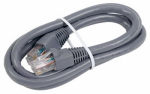 Audiovox TPH629 Cat6 Network Cable, 250Mhz, Gray, 3-Ft.