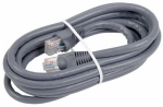 Audiovox TPH630 Cat6 Network Cable, 250Mhz, Gray, 7-Ft.