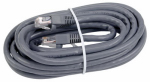 Audiovox TPH631 Cat6 Network Cable, 250Mhz, Gray, 14-Ft.