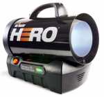 Mr Heater F227900 Cordless Forced-Air Propane Heater, 35,000-BTU