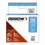 Arrow Fastener 50CT24 Ceilite Staples, Narrow Crown, 17/32-In., 1250-Pk.