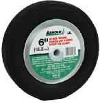 Arnold 490-320-0003 6-Inch Steel Universal Symmetrical Centered Replacement Lawn Mower Wheel