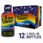 Living Essentials 218123 Energy Drink, Grape, 1.93-oz.