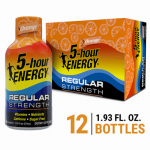 Living Essentials 318120 5-Hour Energy Drink, Orange
