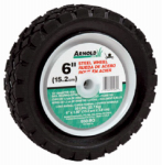 Arnold 490-320-0001 6-Inch Steel Universal Offset Hub Replacement Lawn Mower Wheel