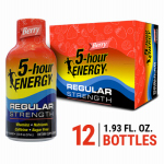 Living Essentials 500181 5-Hour Energy Drink, Berry, 1.93-oz.