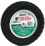 Arnold 490-322-0004 8-Inch Steel Universal Offset Hub Replacement Lawn Mower Wheel