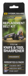 Darex WSSA0002012 Belt Replacement Kit or Kitchen For The Work Sharp Knife Sharpener