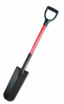 Bully Tools 82535 Drain Spade, Commercial Grade, Fiberglass Handle, 14-In.