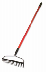 Bully Tools 92309 Bow Rake, Heavy Duty, Steel & Fiberglass, 58-In.