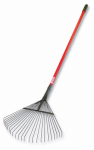 Bully Tools 92312 Thatching / Leaf Rake, Heavy Duty, Steel & Fiberglass, 63-In.