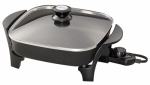 National Presto Ind 06626 Electric Skillet With Glass Lid, 11-In.