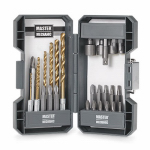 Disston 140884 Impact Drill & Drive Set, Pro-Grade, 30-Pc.