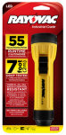 Spectrum/Rayovac WHH2D-BA 3-LED Industrial Flashlight, Yellow/Black
